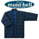 モンベル mont-bell ダウン プリント ハンテン #1101570 インディゴ MLサイズ
