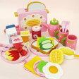 野いちご ポップアップ トースター&モーニングセット お皿ポット付き木のおもちゃ
