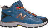ニューバランス TRAIL WALKING/PL-1N MO703H4E-BO BLUE×ORANGE