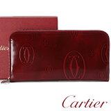 Cartier カルティエ L3001283 長財布 ハッピーバースデー ボルドー