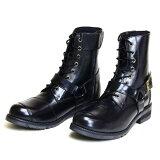メーカー品番:WWM-0001 WILD WING ワイルドウイング ライディングブーツ ファルコン ブラック 28.0cm
