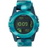 NIXON A1971726 THE UNIT マーブルブルー (腕時計)