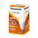 パナソニック LED電球 下方向タイプ 電球色相当 E26口金 30形相当 350lm LDA6LH2