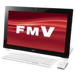 富士通 高性能デスクトップ Kual ESPRIMO WHシリーズ ホワイト FMVW77MWG (FMVW77MWG)
