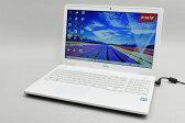 富士通 FMVA50XWP プレミアムホワイト LIFEBOOK AHシリーズ 15.6型液晶