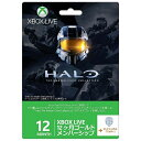 Xbox Live 12ヶ月ゴールド メンバーシップ Halo: The Master Chief Collection バージョン Microsoft Studios