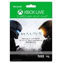 XboxLive12ヶ月GMS Halo5