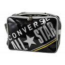 CONVERSE/コンバース C1612052-1913 エナメルショルダーバッグ ブラック×シルバー