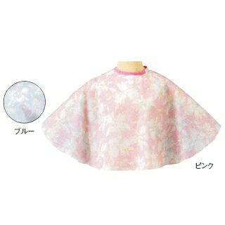 エクセルNo.367 花柄ケープ ピンク