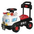 ベビークラフト 乗用玩具パトカー ブラック/ホワイト