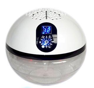 アテックス 水で空気を洗う空気清浄機 バイオナースボールDX パールホワイト