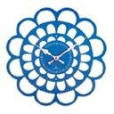 ヤマト工芸 掛時計 BOTAN YK13-101-Bl ブルー