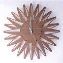 """ヤマト工芸 贈り物にぴったり  シックな幾何学模様の振り子時計 """"pattern clock W ト"""