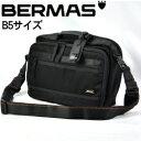 BERMAS/バーマス 60168 BAUER (バウアー) 横ショルダー (ブラック)の画像