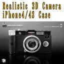 Realistic 3D Camera iPhone4/4S Case B-BK BLACK立体クラシックカメラ型アイフォン4/4Sケース【RCI4B/BK】4560194547607 / ZCWorld(ZCワールド)