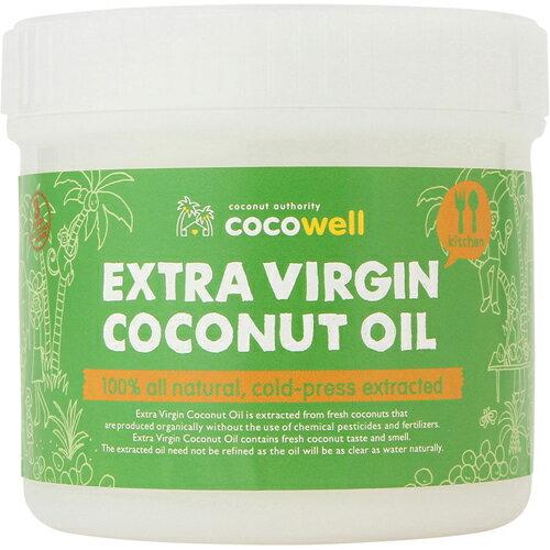ココウェル EXVココナッツオイル 400g