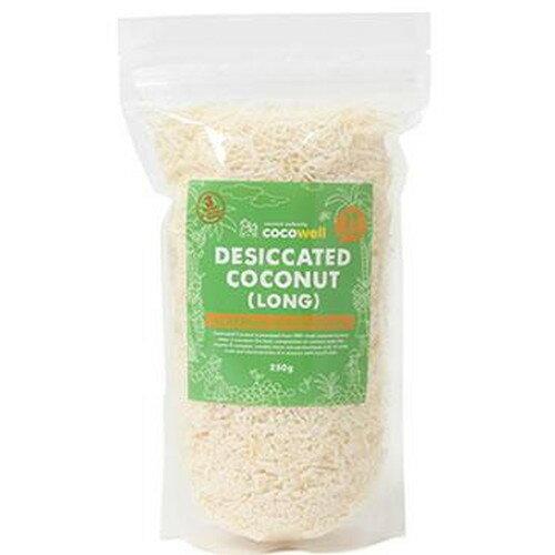 ココウェル デシケイテッドココナッツ ロング 250g ココウェル ココナツ ココナッツ