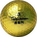 TOBIEMON/飛衛門 FLYGADRGD4-GD 飛衛門ゴルフボール ゴールド