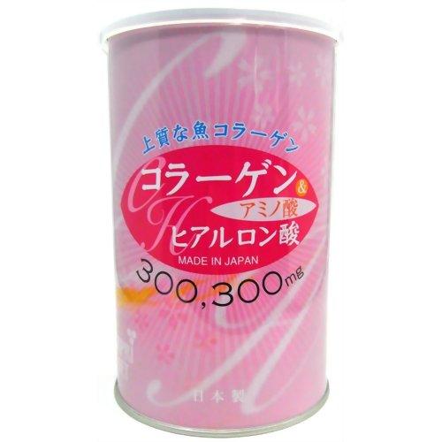 コラーゲン&ヒアルロン酸 330g