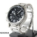 NIXON (ニクソン) 腕時計 THE 51-30 CHRONO BLACK NA083000-00 メンズの画像