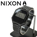 NIXON 腕時計 ニクソン 腕時計 THE RE-RUN (リ・ラン) ALL BLACK NA158001-00
