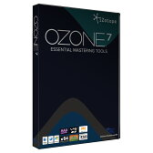 izotope アイソトープ OZONE 7 通常版 取扱い マスタリング プラグインエフェクト DTM DAW