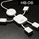 usbハブ 4ポート USB2.0 かわいい ヒューマノイドハブスプリッタ 4ハブ hb-06