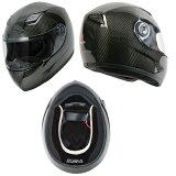 WINS A-FORCE カーボン フルフェイスヘルメット インナーブラック M