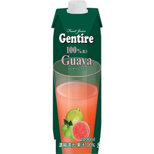 ジェンティーレ フルーツジュース グアバ 1L