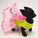 モンキーデイズ ドレス flower blossom dress サイズ XXS pink/green首周り: 13cm 胴囲: 23cm 着丈 メディックス・ワン