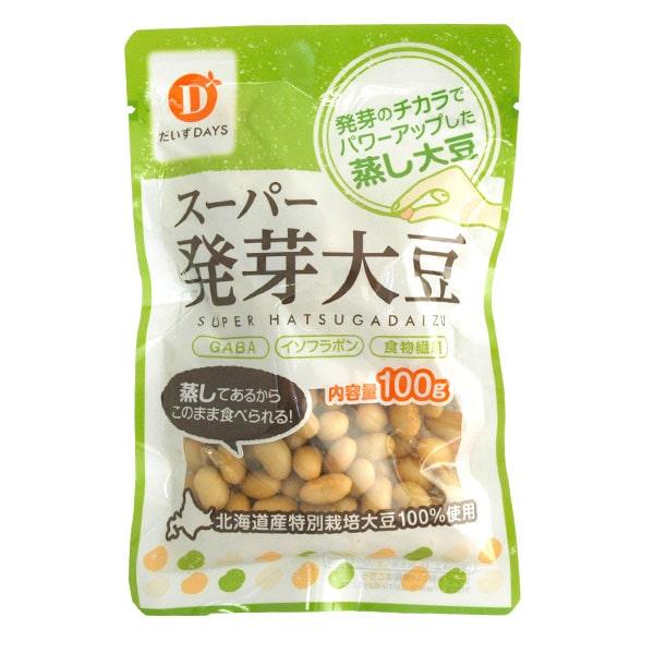 やわらかスーパー発芽大豆 100g