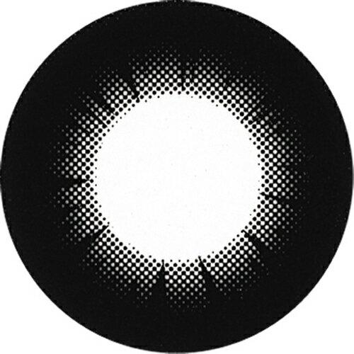 度なし パラカラネオ マンスリー ブラックセピア 2枚 レンズ直径14.5mm