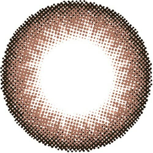 度なし パラカラネオ マンスリー チョコラテ 2枚 レンズ直径14.5mm