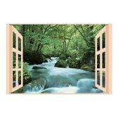 後藤 お風呂のポスター四季彩 奥入瀬の渓流 8095652