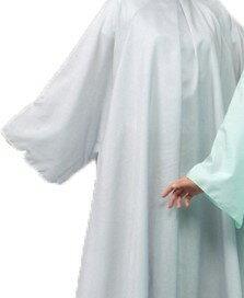 エクセルNo.8001 ヘアーカッティングドレス シルバーグレー