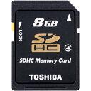 東芝 class4 SDHCメモリカード SD-L008G4の価格を調べる