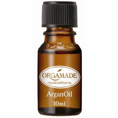 オーガメイドアルガンオイル 10ml・ヘアケア用にも 自然の恵みの美容オイル (IK)