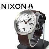 NIXON 腕時計 ニクソン 腕時計 THE CORPORAL SILVER/BROWN(コーポラル シルバー/ブラウン) NA2431113-00 メンズ 02P26Jan12