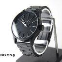NIXON 腕時計 THE SENTRY SS ALL BLACK(セントリーSS オールブラック) NA356001-00 ユニセックス