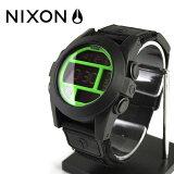 NIXON THE BAJA バハ メンズ腕時計 ブラック ネオングリーンNA489027-00