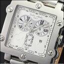 ドルチェメディオ DolceMedio ホワイト DM8018-WHBR メンズ 腕時計 #79734