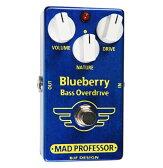NW BLUEBERRY BASS OD マッド・プロフェッサー ベース用オーバードライブ Mad Professor NEW Blueberry Bass Overdrive NWBLUEBERRYBASSOD