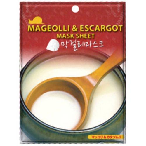 マッコリ&エスカルゴマスクシート 1枚入