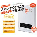 セラミックファンヒーター (ハイパワー1000W) HC-810WH