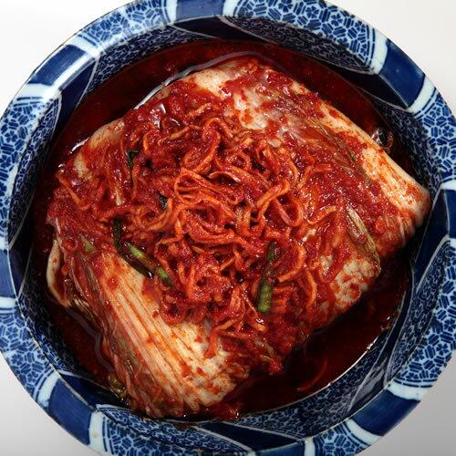 白菜キムチ400g×2袋+韓国のり1pk