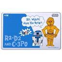 ICカードステッカー スター・ウォーズ C-3PO、R2-D2 RT-SWICSB/CR C-3PO、R2-D2 グッズ