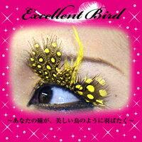 クリアストーン Excellent Bird 羽まつげ No.12