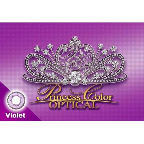 プリンセスカラー オプティカル バイオレット 度数ー2.75 1枚入