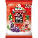 オリヒロ ぷるんと蒟蒻ゼリー クリスマスアソート グレープ+イチゴ 12個入(2種類×6個) オリヒロプランデュ