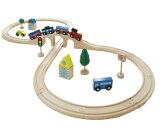 木製おもちゃのだいわ 汽車レールセットスタンダード